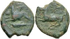 Ancient Coins - Sicily, Syracuse, Dionysos II, 367 - 357 BC, AE23