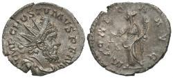 Ancient Coins - Postumus, 260 - 269 AD, Silver Antoninianus, Moneta, Treveri Mint