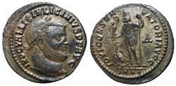 Ancient Coins - Licinius I, 308 - 324 AD, Follis of Heraclea, Jupiter