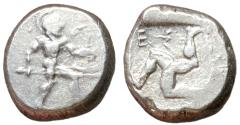 Ancient Coins - Pamphylia, Aspendos, 465 - 430 BC, Silver Stater, Unpublished
