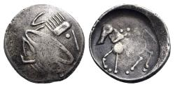 Ancient Coins - Eastern Celts, 2nd Century BC Silver Tetradrachm