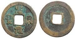 Ancient Coins - H16.354.  Northern Song Dynasty, Emperor Hui Zong, 1101 - 1125 AD, In Seal Script