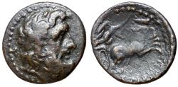 Ancient Coins - Sicily, Syracuse, Roman Rule, after 212 BC, AE22
