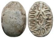 Ancient Coins - Egypt, New Kingdom, 15th Dynasty Hyksos Scarab, 1650 - 1550 BC