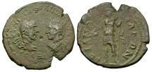 Ancient Coins - Philip I & Otacilia Severa, 244 - 249 AD, AE28, Messembria