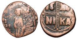Ancient Coins - Michael IV, 1034 - 1041 AD, Class C Follis