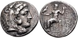 Ancient Coins - Kingdom of Macedonia, Philip III Arrhidaios, 323 - 317 BC, Silver Tetradrachm, Cilician Mint