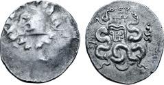 Ancient Coins - Mysia, Pergamon, 92 - 88 BC, Silver Cistophoric Tetradrachm