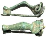 Ancient Coins - Roman Knee Brooch, 2nd - 3rd Century AD
