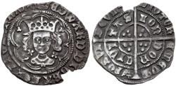 World Coins - Britain, Edward IV, 2nd Reign, 1471 - 1483 AD, Silver Penny, London Mint