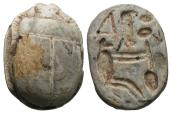 Ancient Coins - Egypt, New Kingdom, 16th - 11th Century BC, Bastet Scarab