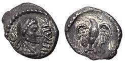 Ancient Coins - Celtic Britain, Trinovantes & Epaticuus, 35 - 43 AD, Silver Unit