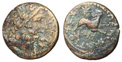 Ancient Coins - Antioch, Time of Augustus, 13 - 14 AD, AE Trichalkon