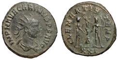 Ancient Coins - Carinus, 283 - 285 AD, Antoninianus of Cyzicus