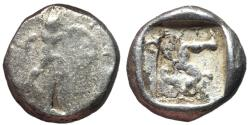 Ancient Coins - Pamphylia, Aspendos, 465 - 430 BC, Silver Stater, Athenian Tetradrachm Hoard