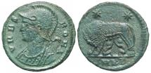 Ancient Coins - Roma Commemorative, 331 - 334 AD, Follis of Cyzicus