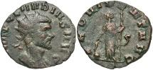 Ancient Coins - Claudius II Gothicus, 268 - 270 AD, Antoninianus of Rome, Providentia