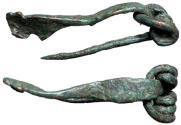 Ancient Coins - Celtic La Tene, 1st Century BC Fibula