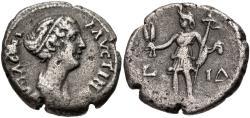 Ancient Coins - Faustina Jr., 147 - 175 AD, Billon Tetradrachm, Extremely Rare