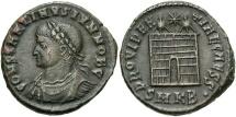 Ancient Coins - Constantine II, as Caesar, 317 - 337 AD, AE19, Cyzicus