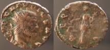 Ancient Coins - Claudius II Gothicus, 268 - 270 AD, Antoninianus of Rome, Aequitas