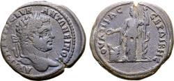 Ancient Coins - Caracalla, 198 - 217 AD, AE32 of Serdica, Demeter, Rare
