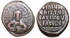 Ancient Coins - Basil II & Constantine VIII, 976 - 1025 AD, Class A2 Follis