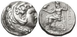 Ancient Coins - Kings of Macedon, Antigonos I, 320 - 305 BC, Silver Tetradrachm
