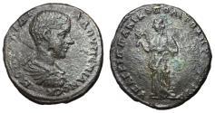 Ancient Coins - Diadumenian, 218 AD, AE26, Nicopolis Mint, Hygieia