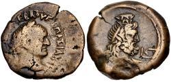 Ancient Coins - Vespasian, 69 - 79 AD, Diobol of Alexandria