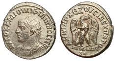 Ancient Coins - Philip I, 244 - 249 AD, Tetradrachm of Antioch, Sharp EF, Rare