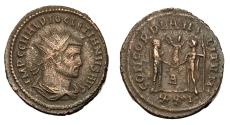 Ancient Coins - Diocletian, 286 - 305 AD, Antoninianus of Heraclea