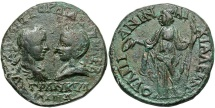 Ancient Coins - Gordian III & Tranquillina, 238 - 244 AD, AE27, Thrace, Anchialus, Hera
