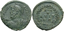 Ancient Coins - Julian II, 360 - 363 AD, AE20, Constantinople Mint