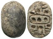 Ancient Coins - Egypt, 18th Dynasty & Later, 1,550 BC & Later, Scarab