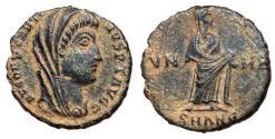 Ancient Coins - Divus Constantine, 347 - 348 AD, Follis of Alexandria