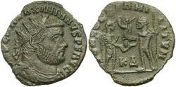 Ancient Coins - Maximianus, 286 - 305 AD, Radiate of Cyzicus