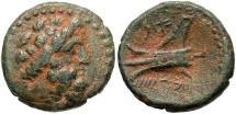 Phoenicia, Arados, 2nd Century BC, AE15, Zeus & Galley