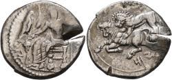 Ancient Coins - Cilicia, Tarsos, Mazaios, 361 - 334 BC, Silver Stater