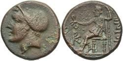 Ancient Coins - Thrace, Ainos, after 327 BC, AE18, Very Rare