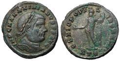 Ancient Coins - Maximianus, 286 - 305AD, Follis of Heraclea, Genius