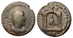 Ancient Coins - Volusian, 251 - 253 AD, AE30, Antioch