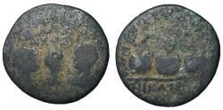 Ancient Coins - Valerian, with Gallienus & Valerian II, AE26 of Nicaea, Prize Urns