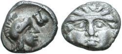 Ancient Coins - Pisidia, Selge, 350 - 300 BC, Silver Obol, Rare Variant