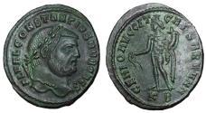 Ancient Coins - Constantius I, as Caesar, 293 - 305 AD, Follis of Cyzicus