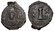 Ancient Coins - Maurice Tiberius, 582 - 602 AD, Decanummium of Theoupolis