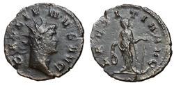 Ancient Coins - Gallienus, 253 - 268 AD, Antoninianus with Laetitia