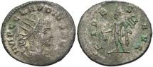 Claudius II, 268 - 270 AD, Antoninianus, Antioch Mint, Hermes, Unpublished Variant