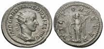 Ancient Coins - Gordian III, 238 - 244 AD, Silver Antoninianus, Victory