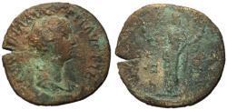 Ancient Coins - Faustina Jr., 138 - 161 AD, Sestertius, Pietas